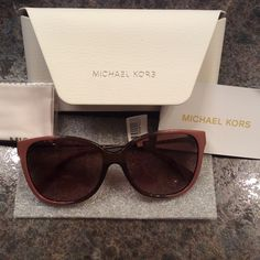 Michael Kors Sun Glasses 0253 OMK 6006 57, Authentic Michael Kors Sun Glasses 0253 OMK 6006 57, new with tags! Comes with case and cloth! Michael Kors Accessories Glasses