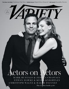 Jessica Chastain and Mark Ruffalo on Rehearsing, 'Interstellar' and 'Foxcatcher'