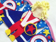Superhero decoration