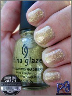 Polish Galore: China Glaze 5 Golden Rings