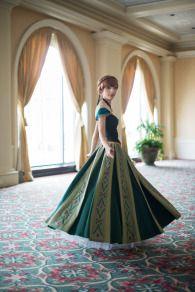 Princess Anna Coronation Dress Construction Notes by Yuuri-C