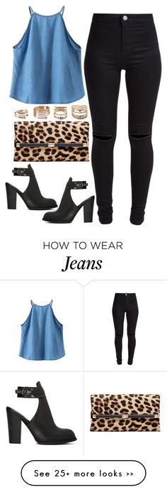 """939."" by adc421 on Polyvore featuring New Look, Diane Von Furstenberg, Shoe Cult and Forever 21"