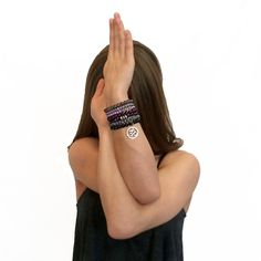 Gemstone Bracelet Stack