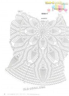 Fada do Crochet: BOLERO AZUL...LINDO