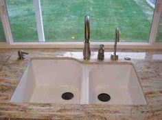 Built In Soap Dispenser On The Opposite Side From Sprayer U0026 Faucet.