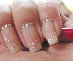 Wedding nail art                                                       …