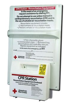 Are You Prepared? Be Red Cross Ready   Preparedness and being CPR trained are vital in cardiac emergencies. The American Red Cross, a seasoned provider of CPR Instruction, now offers a CPR Station designed to meet the New York State Department of Health's recent ruling regarding preparedness in the workplace. Perfect for CPR Safety and OSHA CPR & Bloodborne Pathogens compliance in EVERY State! $35.96
