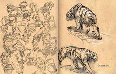 recent sketchbook pages 3 by davidsdoodles.deviantart.com on @deviantART
