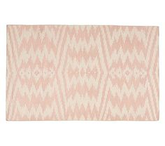 Genevieve Gorder for Capel, Pink Ikat Rug #pbkids