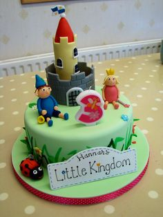 Audrey and Baxley's Little kingdom sign