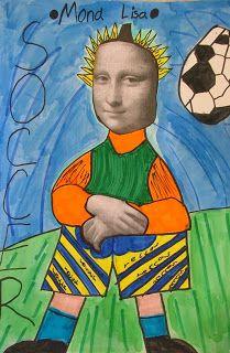 Art with Mrs. Seitz: Mona Lisa Parodies