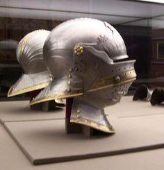 Sallet close helm, 1495 made for emperor Maximillian