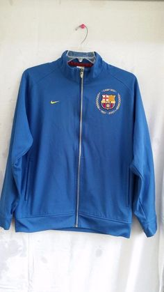 Very Rare Nike FC Barcelona Men's Blue Large Soccer  Jacket Camp Nou 1957 - 2007 | Sports Mem, Cards & Fan Shop, Fan Apparel & Souvenirs, Soccer-International Clubs | eBay!