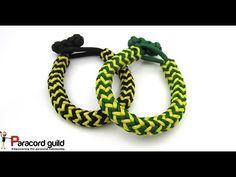 Herringbone paracord bracelet - interweave - YouTube