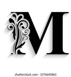 Creative Lettering, Brush Lettering, Typography Drawing, Quilling Letters, Klimt Art, Flower Alphabet, Creation Deco, Alphabet Design, Wood Carving Art