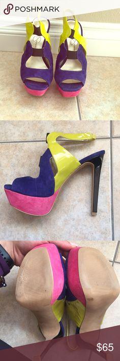 Jessica Simpson shoes- never worn. NWOB Jessica Simpson shoes- never worn. NWOB. Will do $40 on PP Shoes Platforms