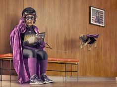 9 | Photographer Turns His Grandmother Into a Not-Yet-Retired Superhero | Co.Create: Creativity \ Culture \ Commerce