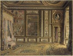 Fontainebleau, chambre d'Anne d'Autriche