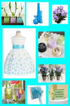Aqua_lavender__green_wedding
