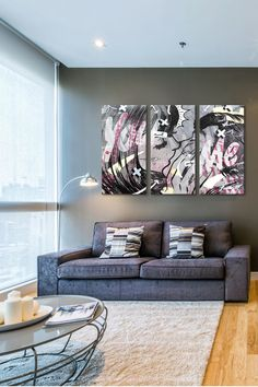 And Only 3 Panel Sectional Wall Art on @HauteLook