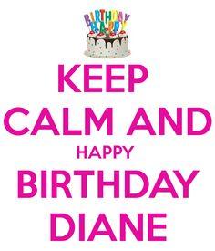 Happy Birthday Diane, Happy Birthday Sister, Birthday Wall, Girl Birthday, Kindergarten, Happy Birthdays, Names, Wall Photos, Instagram Posts
