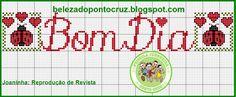 Um cantinho para fazer novas amizades, trocar ideias e partilhar gráficos de ponto cruz! Sejam todos muito bem vindos!