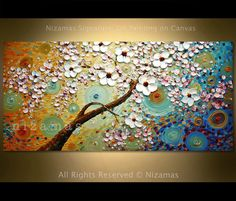 Painting Oil Acrylic palette knife gallery quality