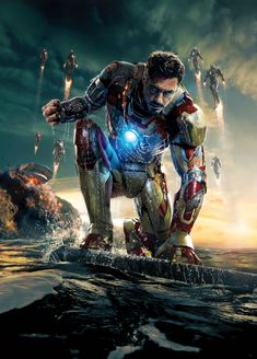 New IRON MAN 3Poster!!! Have this same pic has my wall paper on my phone