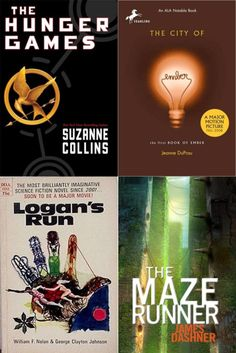 DYSTOPIAN BOOKS A TO Z... My favorite genre!