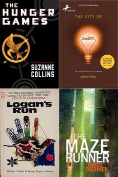 DYSTOPIAN BOOKS A TO Z... My favorite genre!