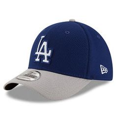 half off a537a 71ca1 MLB-Los Angeles Dodgers · L.A. Dodgers New Era Road Diamond Era 39THIRTY  Flex Hat - Royal Gray Dodger Hats