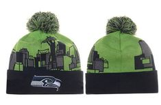 0820ba1d 51 Best Seattle Seahawks beanie images in 2018   Knit beanie hat ...
