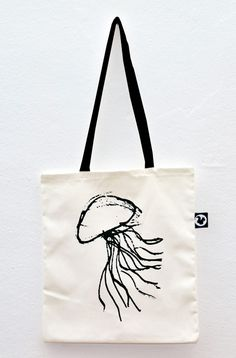 #MEDUSA #totebag #jellyfish #serigrafia #screenprinted