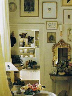 antique living