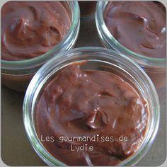 Les gourmandises de Lydie: Crèmes au chocolat au thermomix
