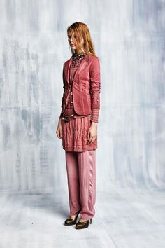 #danieladallavalle #collection #elisacavaletti #fw15 #pink #jacket #dress #trousers