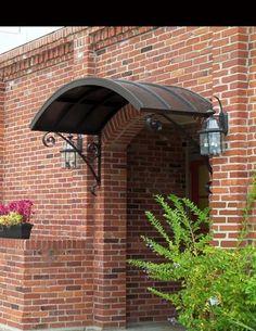 Canopy Tent Pop Up garden canopy outdoor curtains. Awning Over Door, Garden Canopy, Canopy Curtains, Metal Door Awning, Canopy, Metal Door, Metal Awning, Diy Canopy, Doors