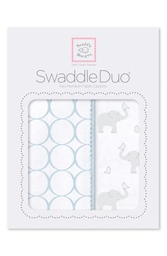 Elephant and Pastel Yellow Chickies Premium Cotton Muslin SwaddleDesigns Marquisette Swaddling Blanket