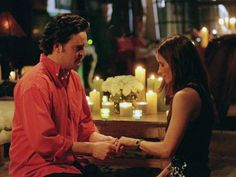Courteney Cox, Matthew Perry, ... | She only got through a few lines, but we give her some credit for providing the romantic set up and gett...