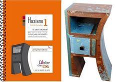 Livret de formation Meuble en carton et patron du Chevet Hasiane - Créer ses meubles en carton