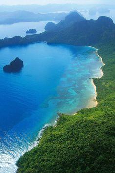 Cadlao Island at El Nido in Palawan, Philippines