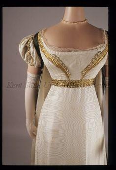 Court dress, 1810's France, Kent State