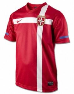 Nike: Jersey of Serbian National Football Team for the World Cup 2010 - red National Football Teams, Serbian, World Cup, Nike, Sports, Red, Tops, Fashion, Hs Sports