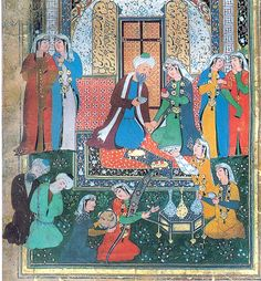 The anthology of a Sufi Prince from Bokhara, Middle Eastern Art, Ladies Outfits, Anime Muslim, Sufi, Islamic Art, Art And Architecture, Henna, Persian, Medieval