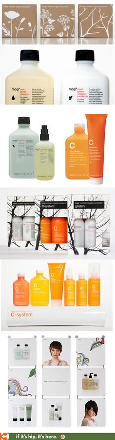 MOP Organic products, packaging design and collateral by TODA.