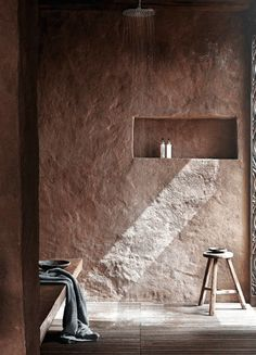 22 Wabi-Sabi Home Interior Design Ideas: Finding Beauty in Imperfection Home Interior, Bathroom Interior, Interior Architecture, Interior And Exterior, Wabi Sabi, Design Hotel, House Design, Casa Wabi, Casa Petra