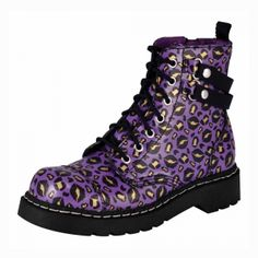 Anarchic | Home Anarchic 7 Eye Combat Boot - T2186