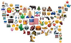 There's so much we can't express because the symbols don't exist: no Vulcan salute, no pickup truck, no bacon.