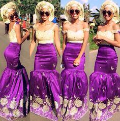 Purple nd gold
