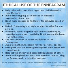 """Enneagram Full Circle on Instagram: """"I thought I would share these valuable rules that I learned in my Narrative Enneagram classes. If we're not careful, it can be easy to…"""""""